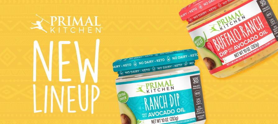 Primal Kitchen® Adds New No Dairy and Sugar-Free Dips to Its Portfolio; Mark Sisson Discusses