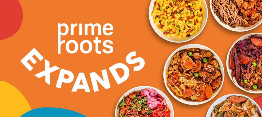 Prime Roots Launches New Meals Featuring Plant-Based Protein at Whole Foods