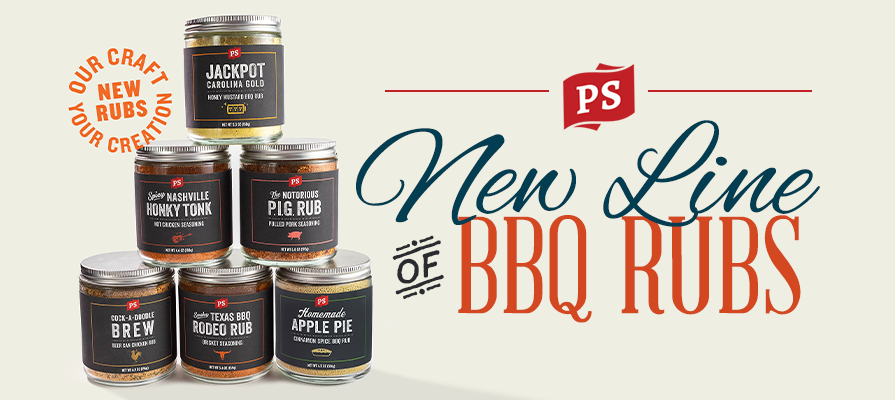 PS Seasoning Launches New Line of BBQ Rubs