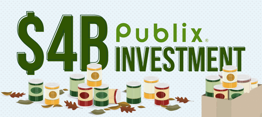 Publix Commits to $4 Billion in Food Donations