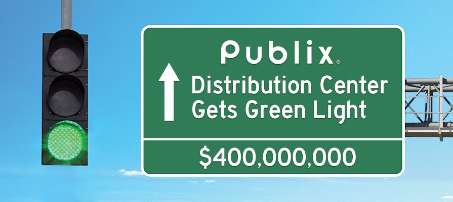 Publix's $400 Million Distribution Center Gets Green Light