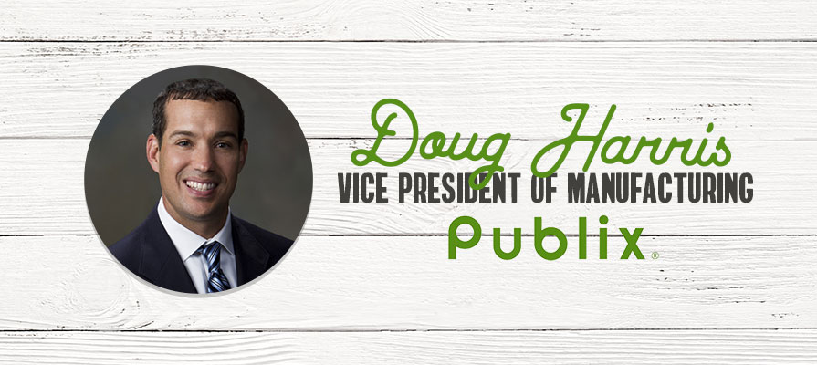 Publix Names Doug Harris Vice President of Manufacturing