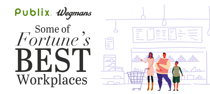 Wegmans and Publix Take Top Spots in Fortune's Best Workplaces in Retail