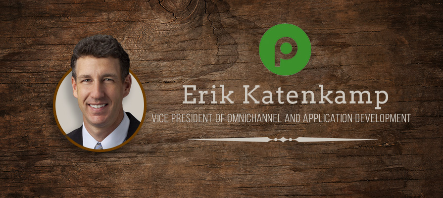 Publix Names Erik Katenkamp in Newly-Created Role of Vice President of Omnichannel and Application Development