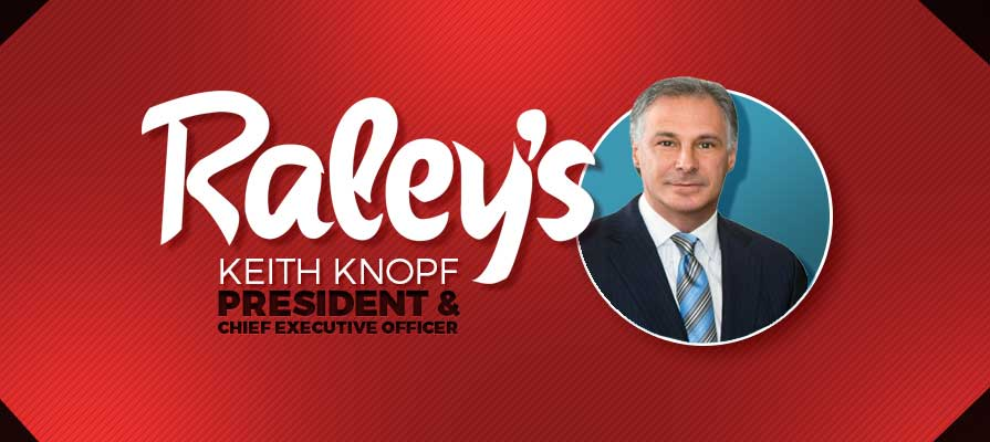 Keith Knopf Becomes Chief Executive Officer for Raley's