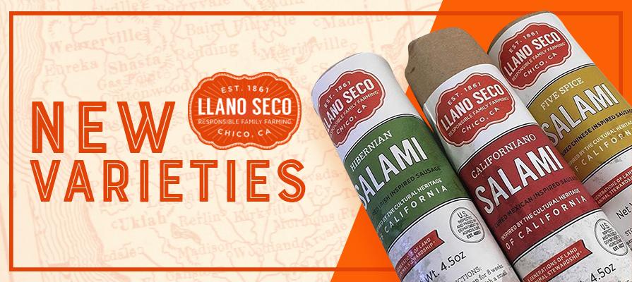 Rancho Llano Seco Unveils New Salami Flavors