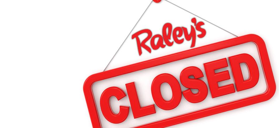 Raley's Shuttering Three California Locations