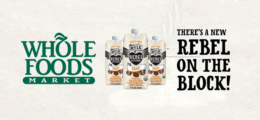 Rebel Kitchen to Sell Coconut Milk at Select Whole Foods Locations