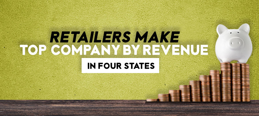 Retailers Make Top Revenue in Four States