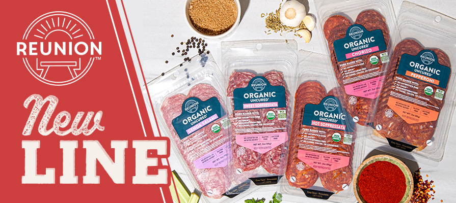 Reunion Foods Announces New Line of Organic Charcuterie Just in Time For The Holiday Season