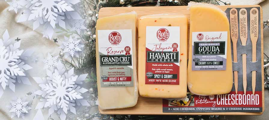 Roth® Cheese Simplifies Holiday Hosting with New Easy Entertaining Cheeseboard