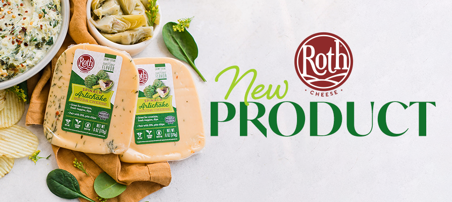 Roth® Cheese Turns Classic Spinach Artichoke Dip into Cheese