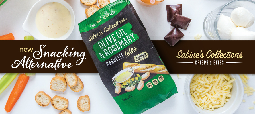 Sabine's Collections Launches Baguette Bites, Expands Its Snack Line