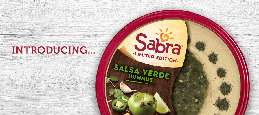 Sabra Introduces Salsa Verde Hummus