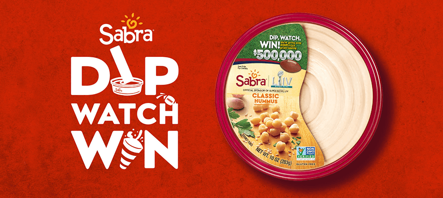 Sabra Brings Hummus to the Super Bowl
