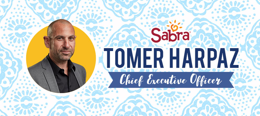 Sabra Dipping Company Welcomes Tomer Harpaz as CEO
