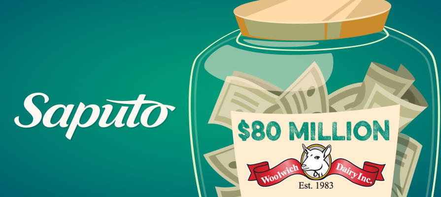 Saputo Acquires Woolwich Dairy for $80 Million