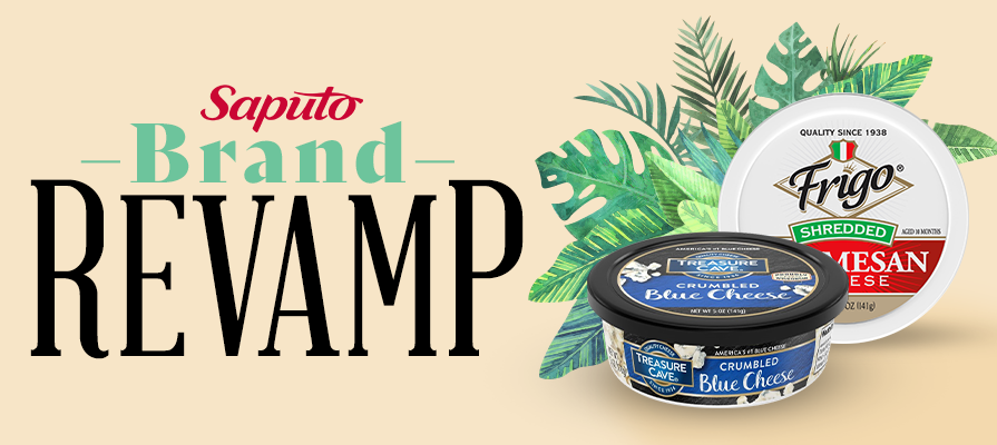 Saputo Cheese Relaunches Packaging for Treasure Cave® and Frigo® Cheese brands