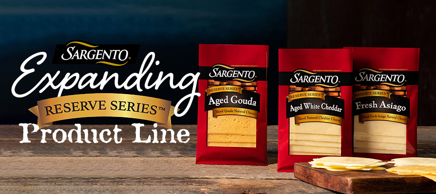 Sargento® Foods Introduces Reserve Series™ Slices to Make the Everyday Gourmet