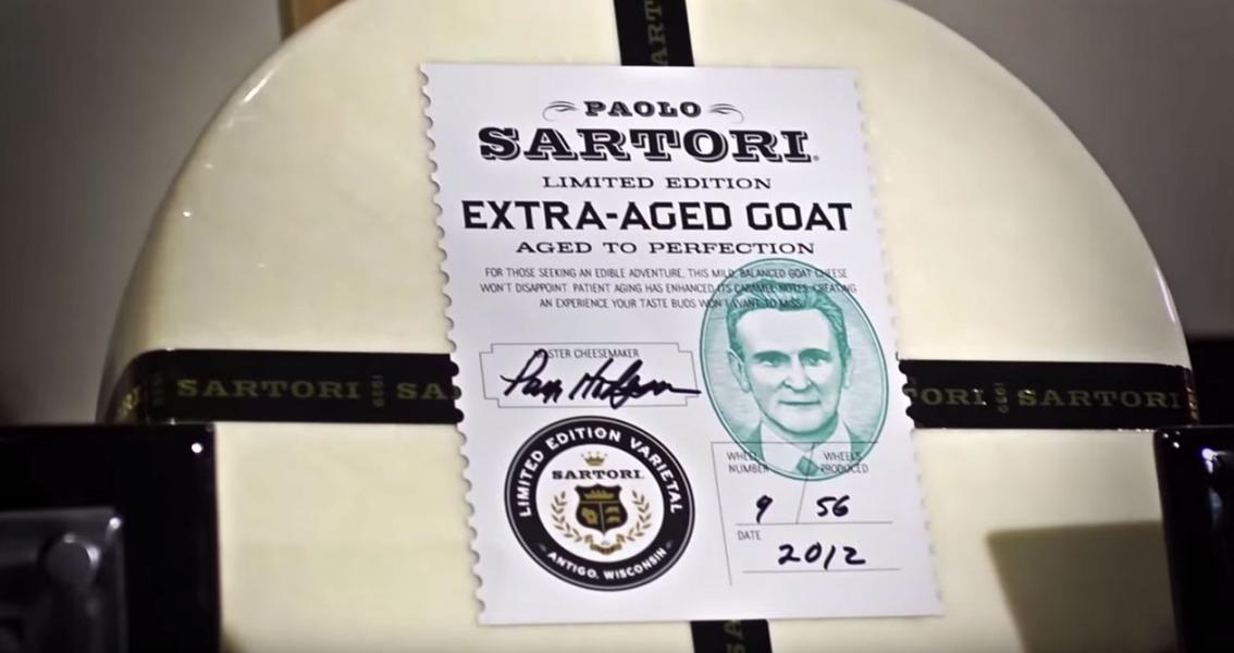 Sartori Brings Back its Limited Edition Ex-Aged Goat Cheese