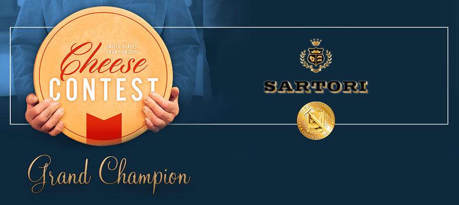 Sartori Company Wins Grand Champion Title at U.S. Championship Cheese Contest