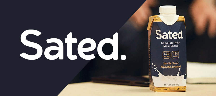 Sated Launches Ready-To-Drink Keto Meal Shake