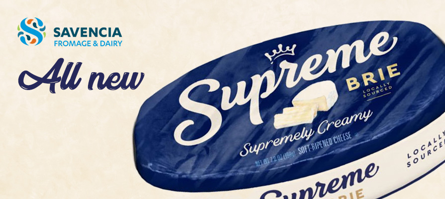 Savencia Cheese USA Launches Supreme Brie