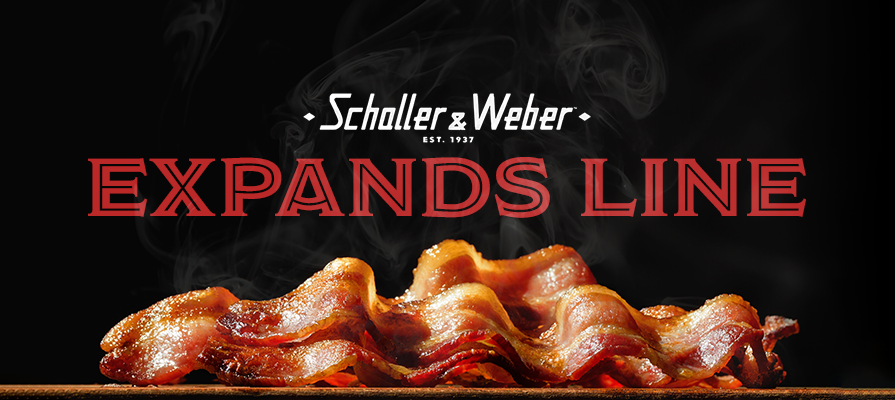 Schaller & Weber Expands Bacon Line with New Double Smoked Uncured Bacon; Nick Korbee, Kurt Gutenbrunner, Martha Stewart, and More Endorse