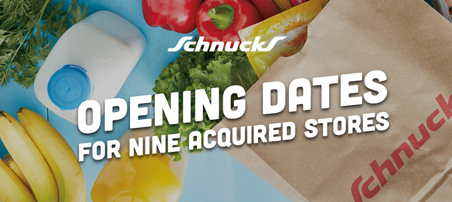 Schnucks Markets Announces Opening Dates and Updates for Nine Acquired Stores