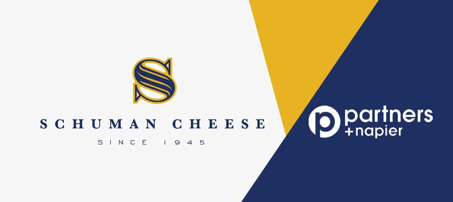 Schuman Cheese Names Partners + Napier as Advertising Agency