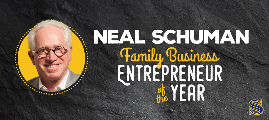 Neal Schuman Named Family Business Entrepreneur Of The Year