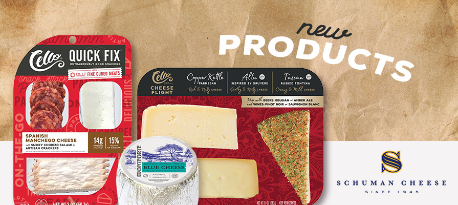 Schuman Cheese To Launch Two New Convenience Product Lines At Summer Fancy Food Show