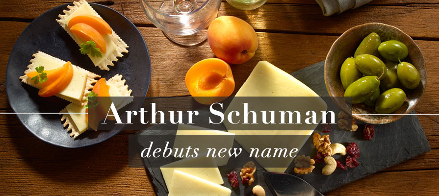 Arthur Schuman Debuts New Name at Summer Fancy Food Show