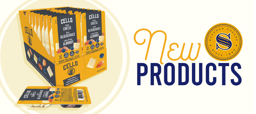Schuman Cheese Launches Cello Snack Packs
