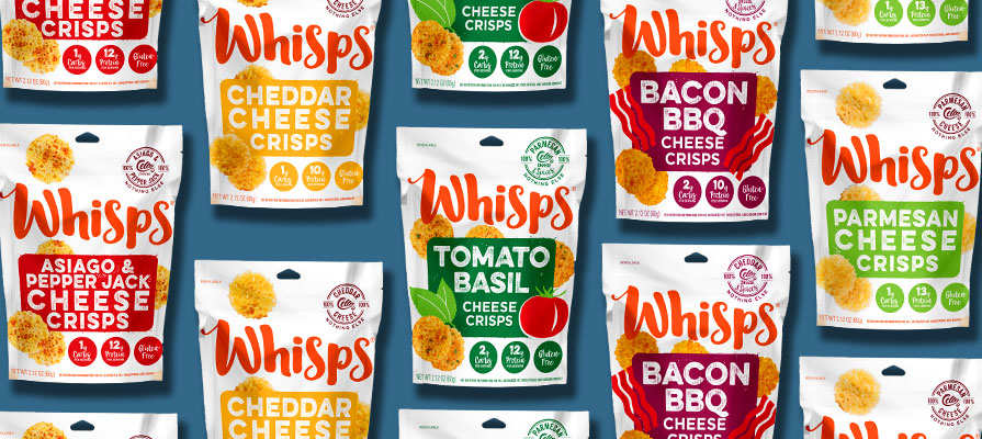 Schuman Cheese Delights Consumers with Whisps