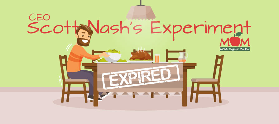 MOM's Organic Market Founder and CEO Scott Nash Eats  Expired  Food for a Year