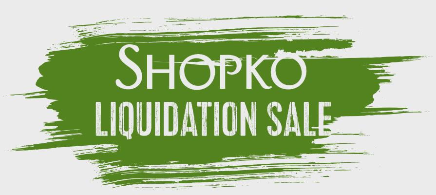 Shopko Announces Commencement of Liquidation Sale