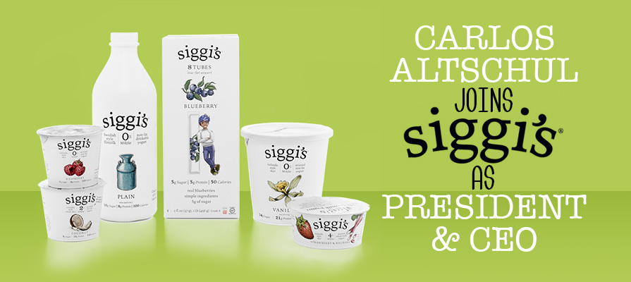 siggi's Appoints Carlos Altschul President And CEO