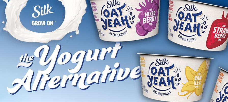 Silk® Launches New Oat Yeah™ Plant-Based Yogurts