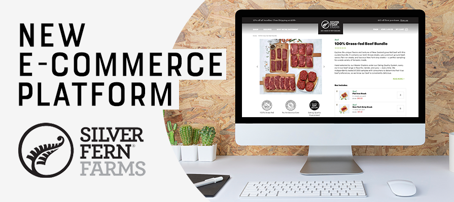 Silver Fern Farms Launches New E-Commerce Platform In the U.S.