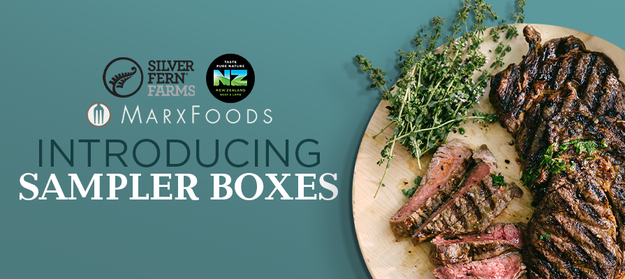 Silver Fern Farms, Marx Foods, and Beef + Lamb New Zealand Collaborate to Launch Online Delivery Sampler Boxes