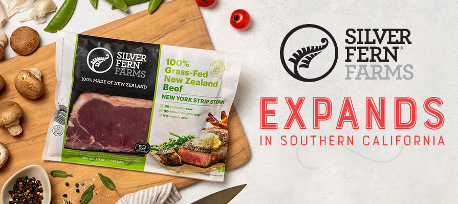 Silver Fern Farms Expands Retail Range to Southern California and Launches New Premium Rib-Eye and New York Strip Steaks