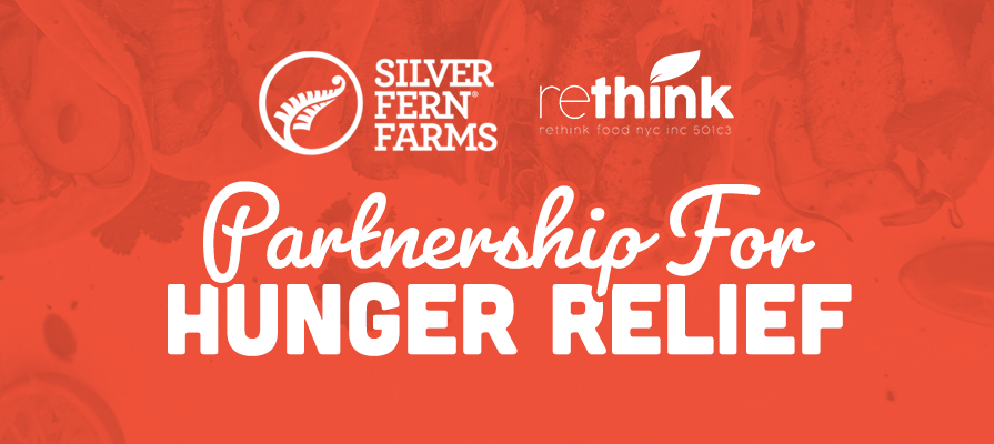 Silver Fern Farms Partners with Hunger Relief Non-Profit Organization Rethink
