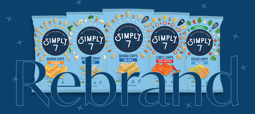 Simply 7 Launches New Branding and Introduces Two Delicious Snacks Perfect for Summer
