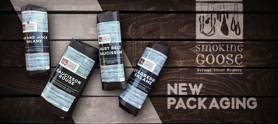 Smoking Goose Launches New Packaging for Salumi Products