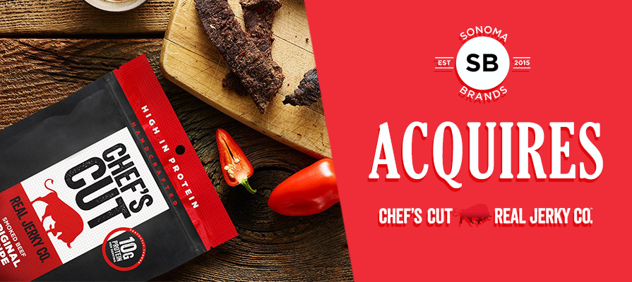 Sonoma Brands Acquires Chef's Cut Real Jerky Co.™