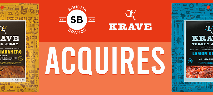Sonoma Brands Acquires KRAVE From The Hershey Company