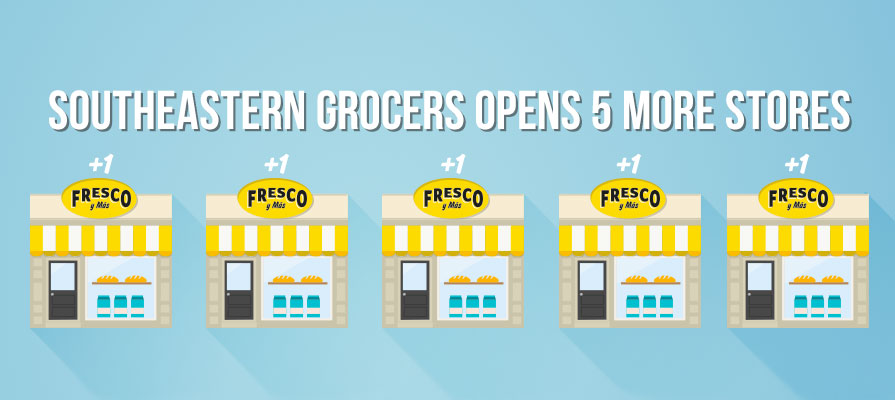 Southeastern Grocers Adds Five Stores to Fresco Y Más Banner