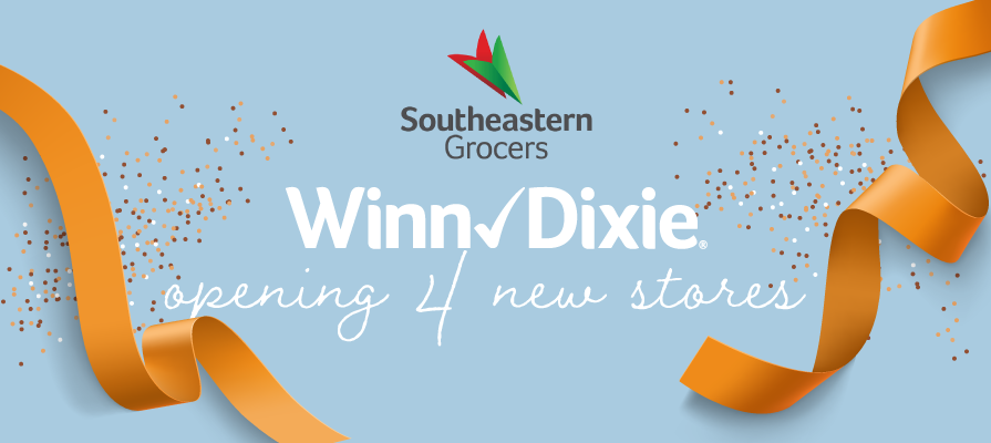 Southeastern Grocers to Unveil Four New Florida Winn-Dixie Stores