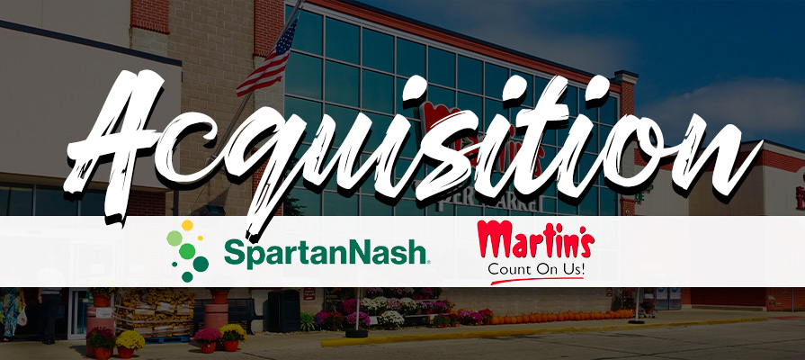 SpartanNash Announces Plans to Acquire Martin's Super Markets